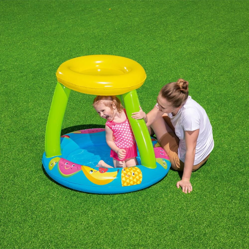 Piscina Inflable Bestway 89 Cm Con Parasol image number 3.0