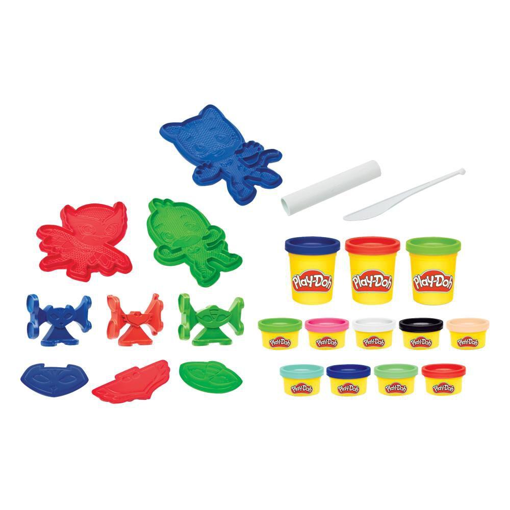 Plasticinas Play Doh Héroes Pj Masks image number 2.0