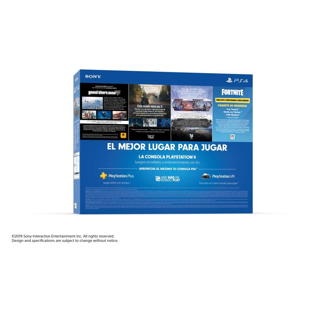 Consola PS4 Sony Mega Pack image number 1.0