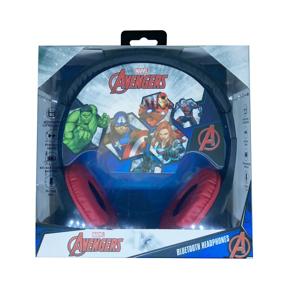 Audífonos Bluetooth Disney Iron Man image number 3.0