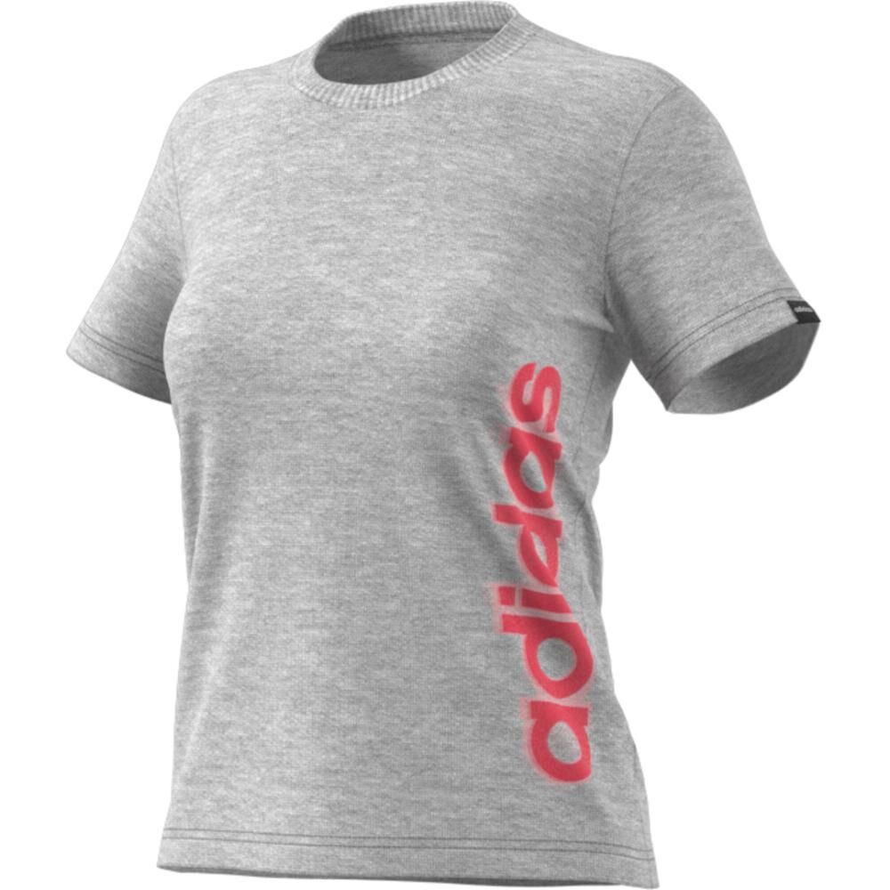 Polera Mujer Adidas Gráfica Vertical image number 4.0