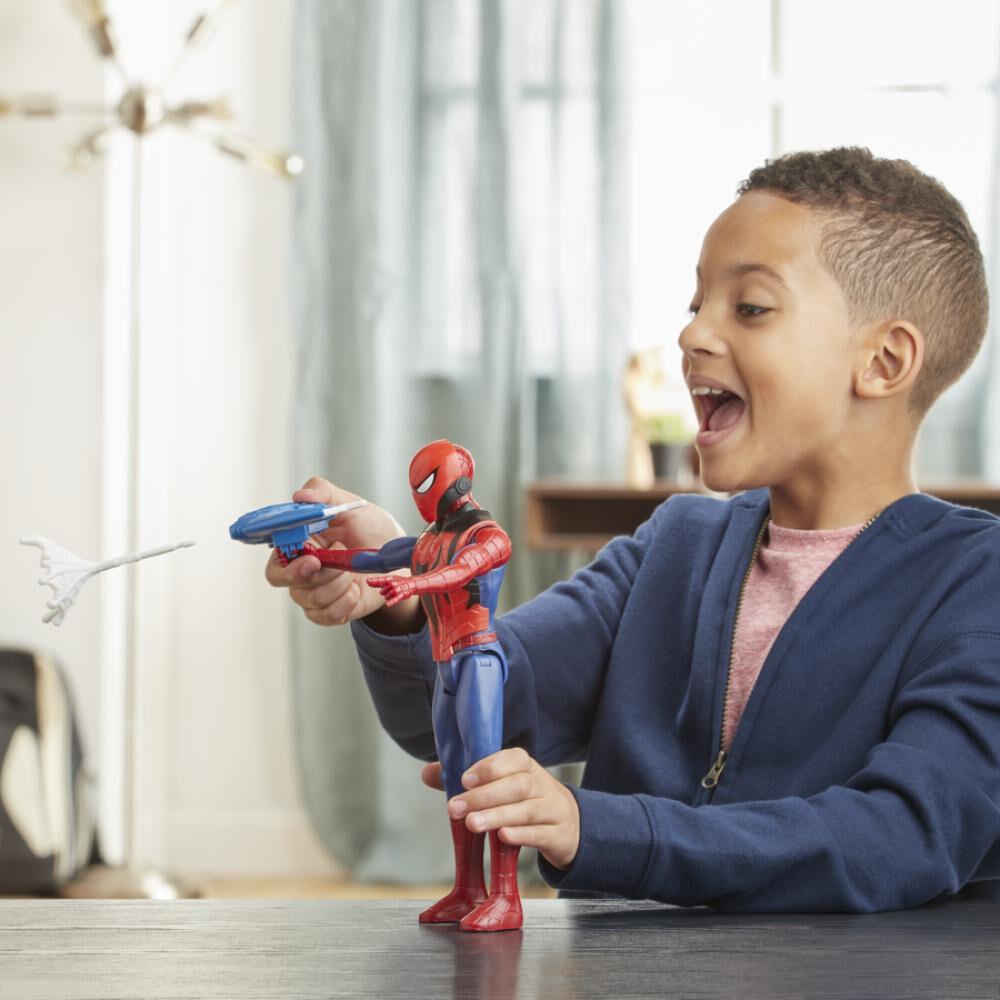 Figura De Accion Spiderman Titan Hero Blast Gear Spiderman image number 2.0