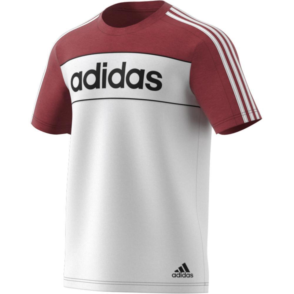 Polera Hombre Adidas Camiseta Essentials Tape image number 2.0