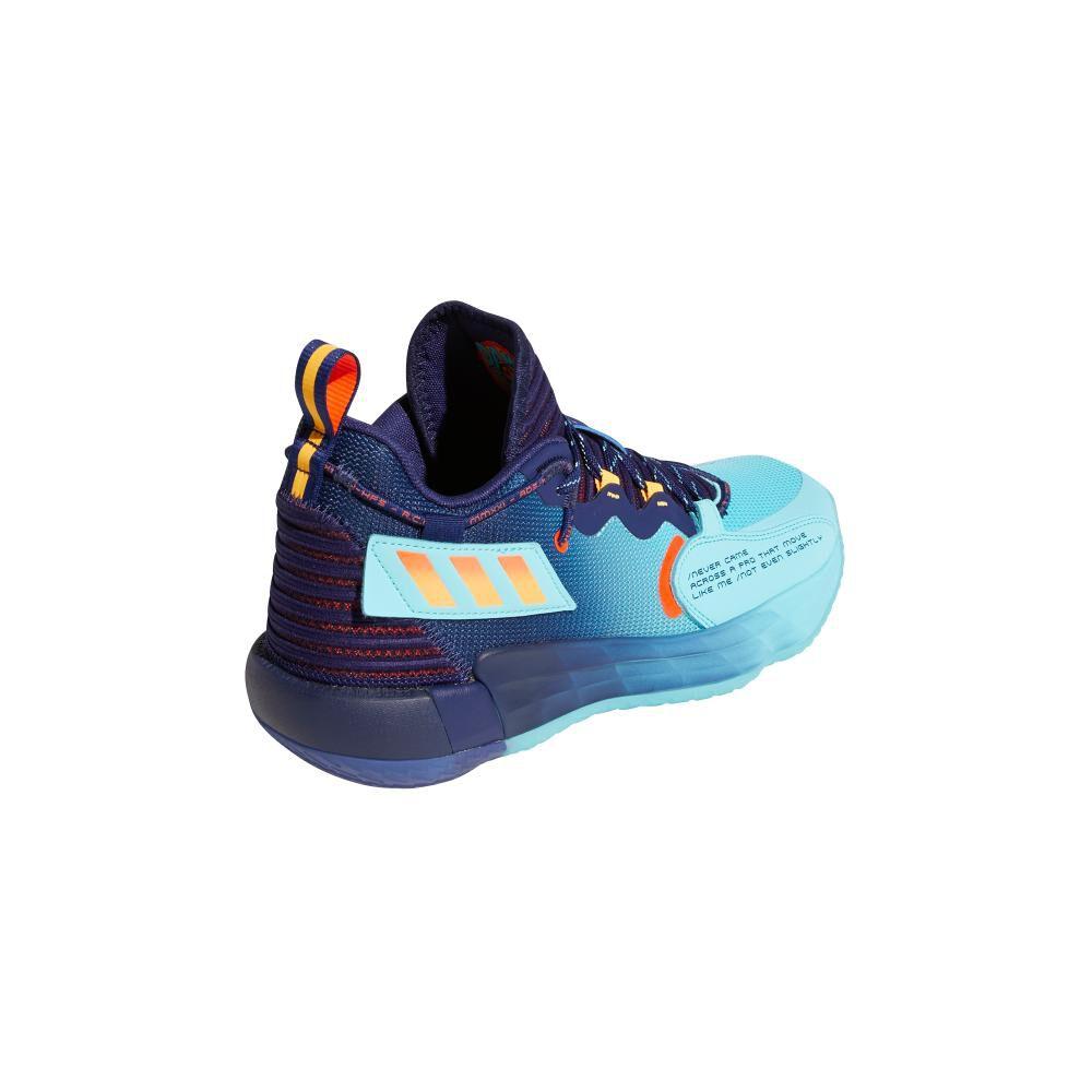 Zapatilla Basketball Hombre Adidas Dame 7 Extply image number 2.0