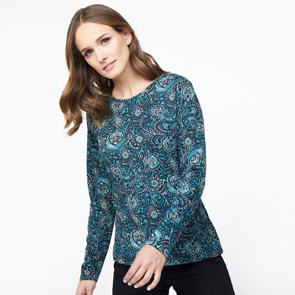 Sweater Estampado Mujer Geeps image number 0.0