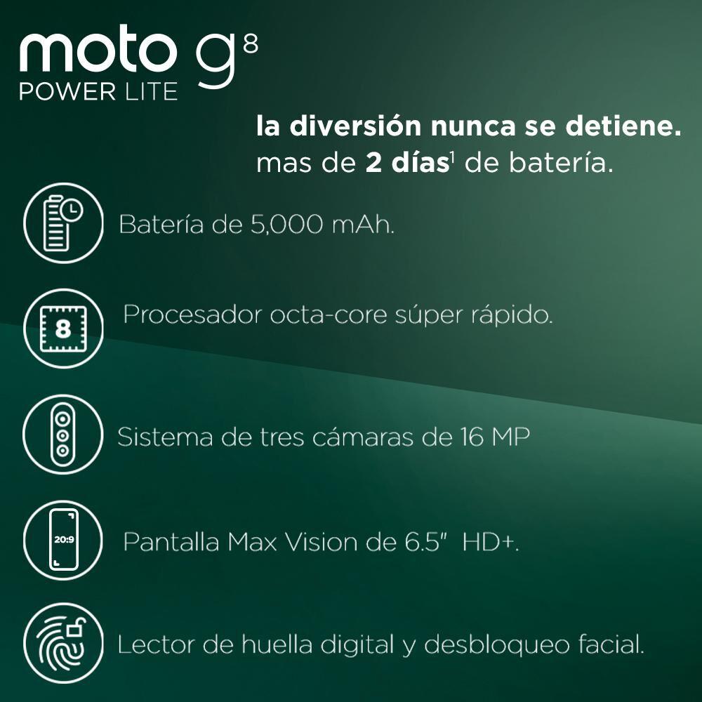 Smartphone Motorola Moto G8 Power Lite / 64 Gb / Wom image number 2.0