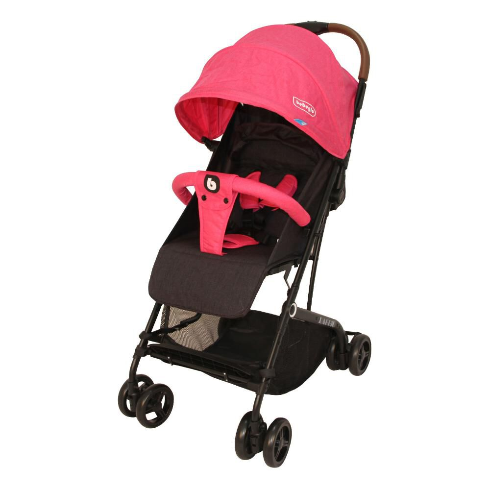 Coche Travel System Compacto Bebeglo RS-13785-2 Fucsia image number 1.0