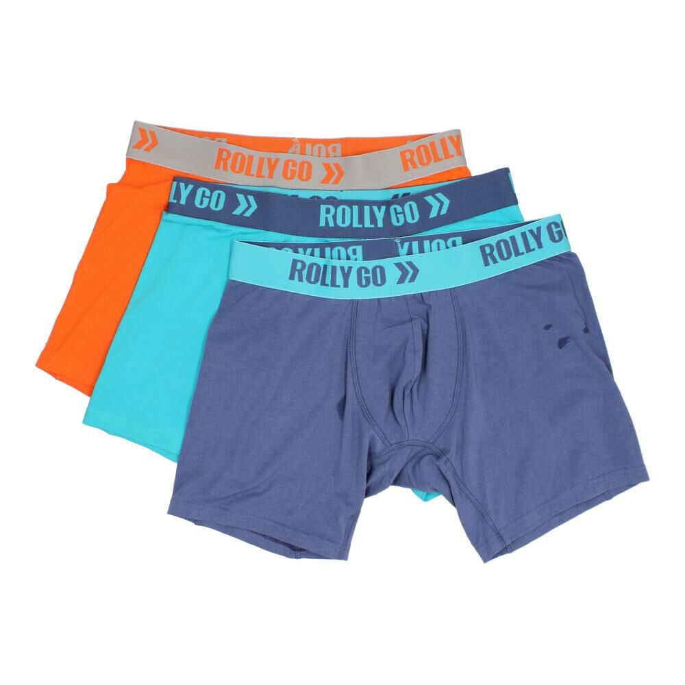 Pack Boxer Hombre Rolly Go / 3 Unidades image number 1.0