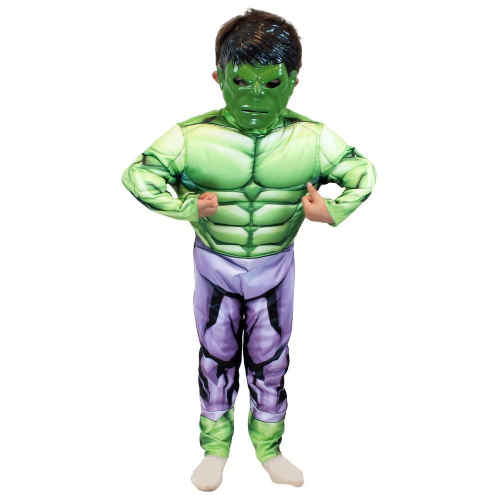 Disfraz Glam Hulk Deluxe / Talla 4/6 image number 0.0