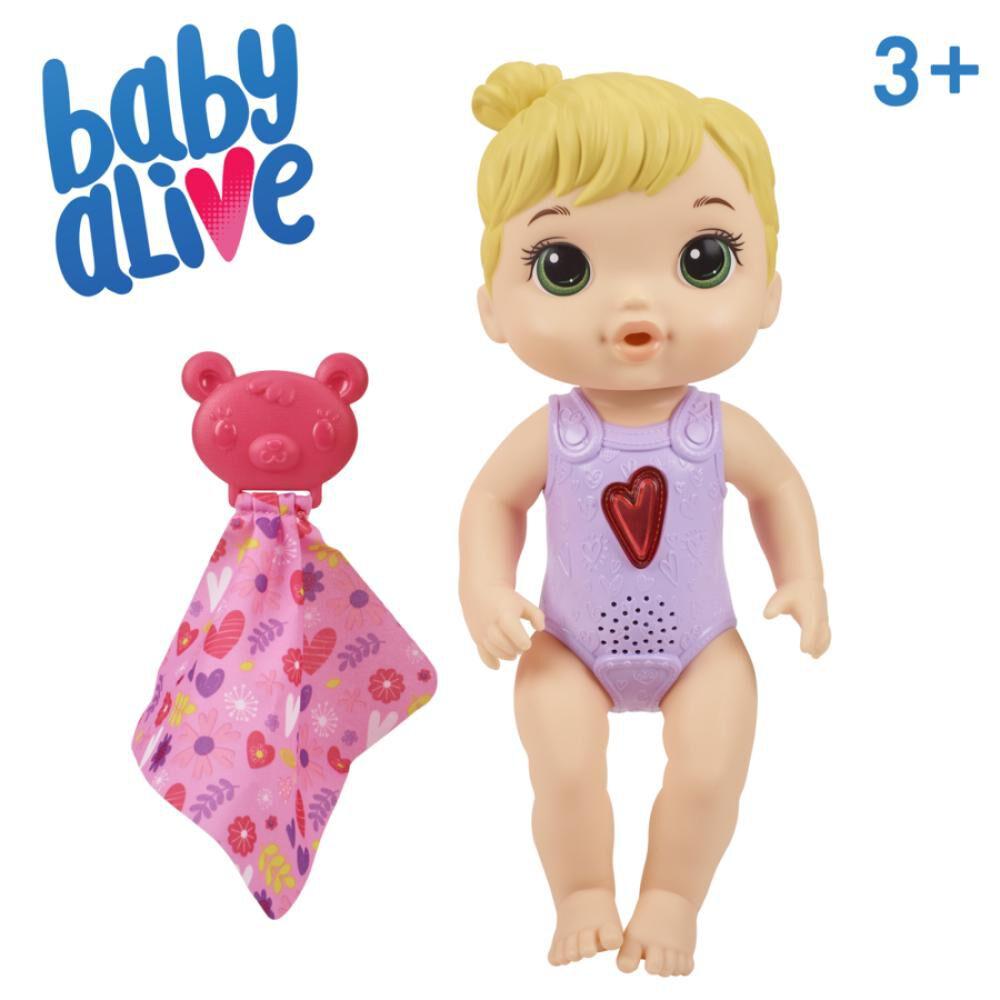 Muñeca Baby Alive Bebé Corazón Feliz image number 2.0