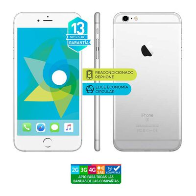Smartphone Apple Iphone 6s Reacondicionado Plata / 64 Gb / Liberado