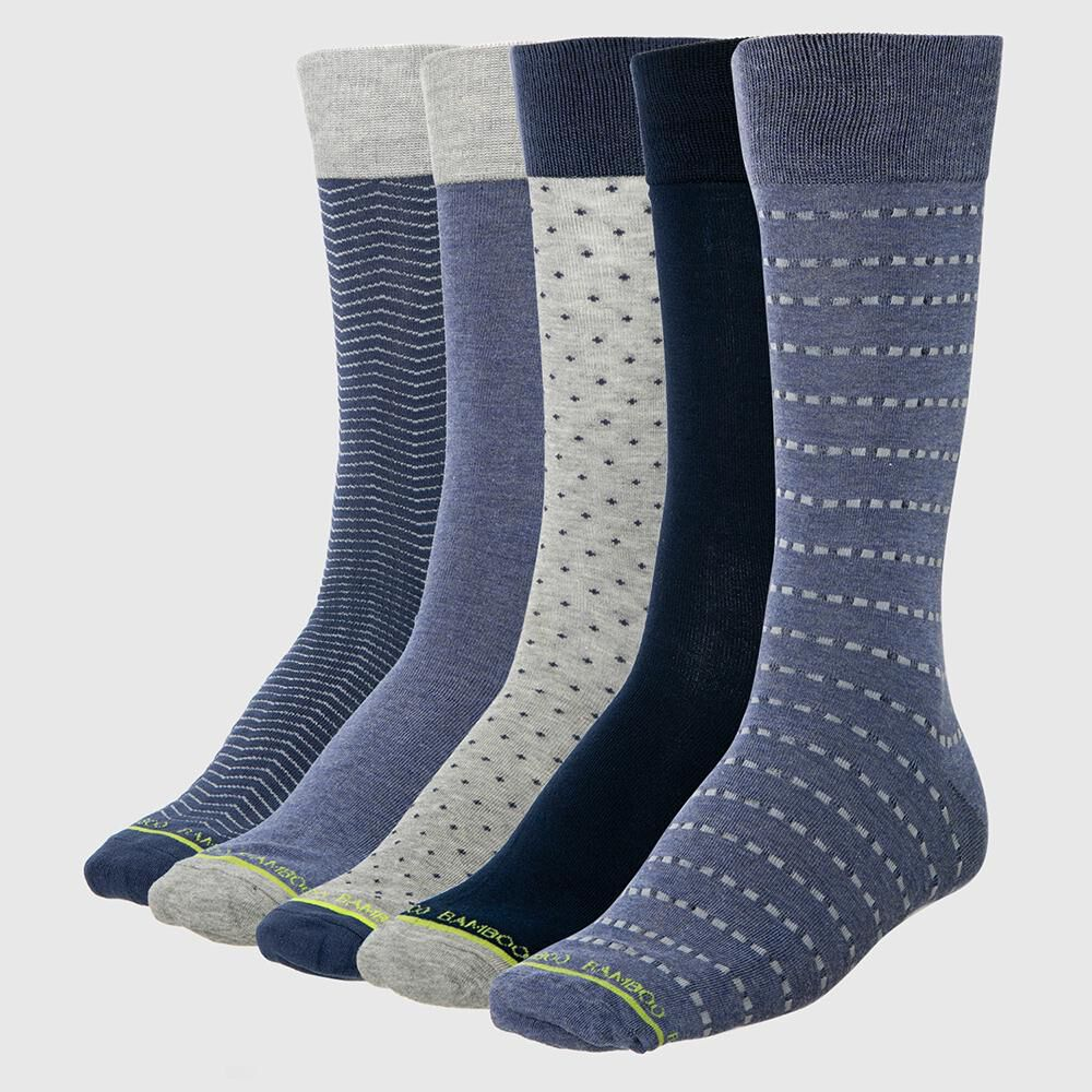 Calcetines Bamboo Palmers / 5 Pares image number 1.0