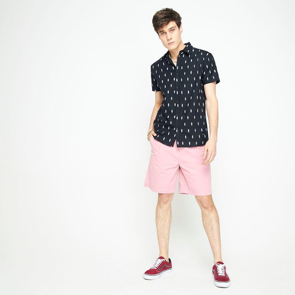 Camisa Manga Corta Con Diseño Hombre Ocean Pacific image number 1.0