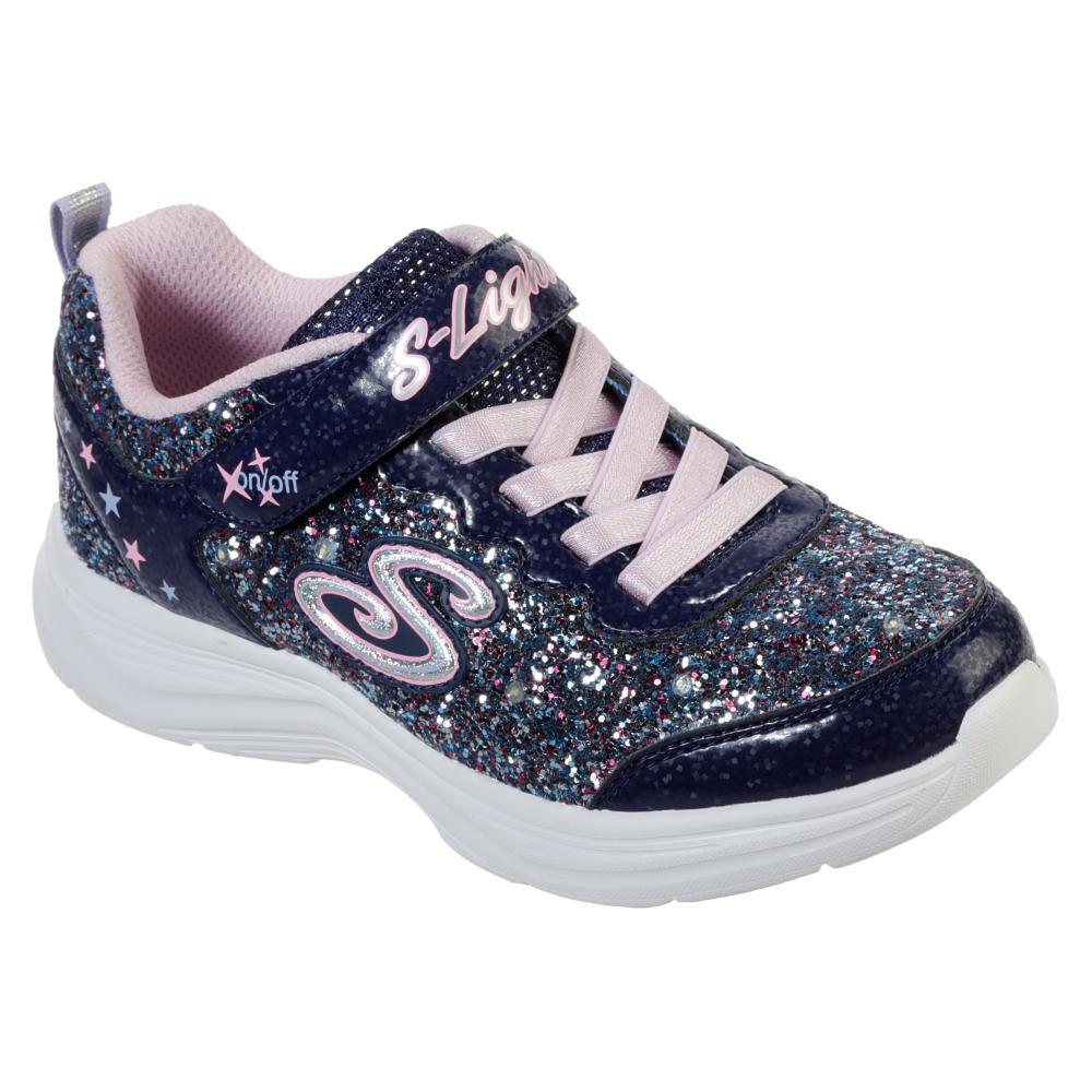 Zapatilla Niña Skechers Glimmer Kicks-glitter N'glow image number 0.0