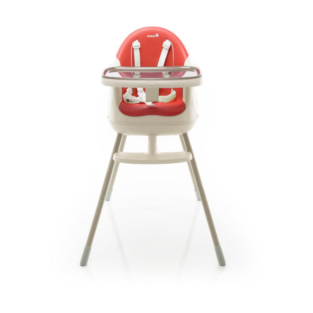 Silla De Comer Safety Jelly Red image number 4.0