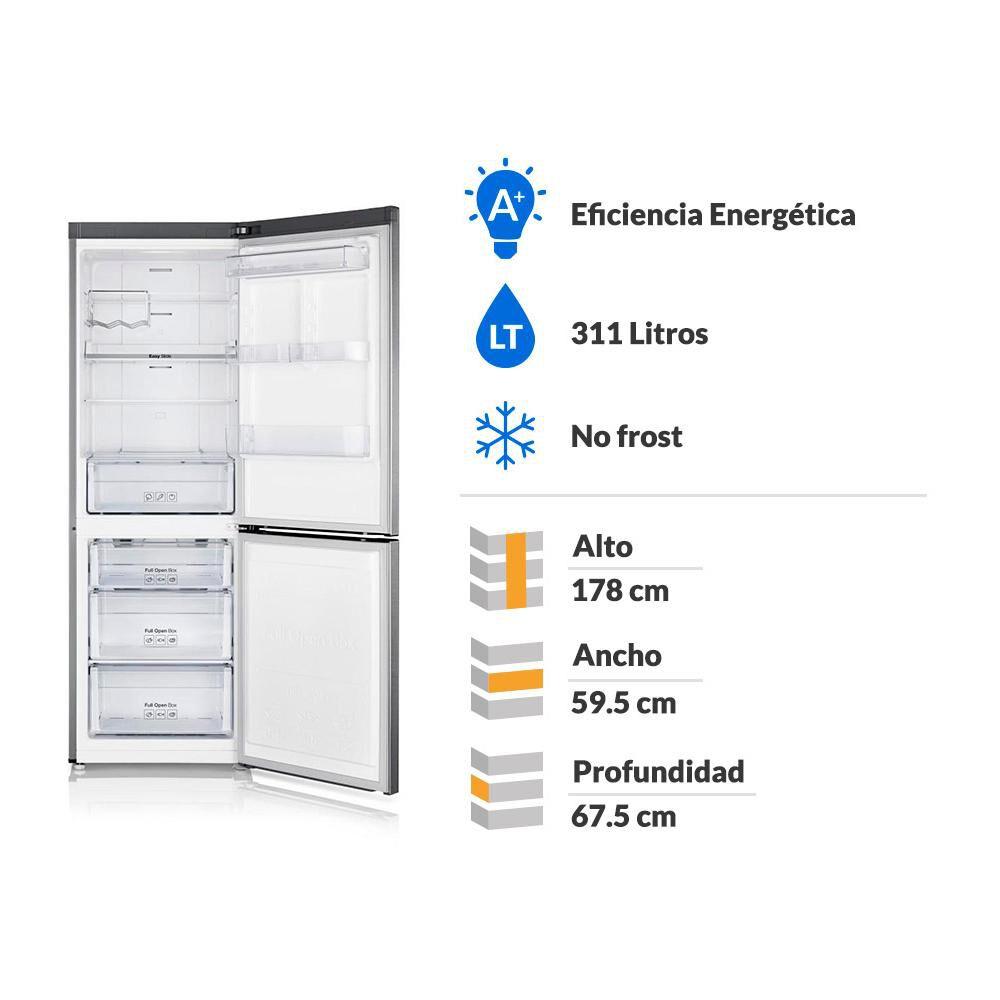 Refrigerador Bottom Freezer Samsung RB31K3210S9/ZS / No Frost / 311 Litros image number 1.0