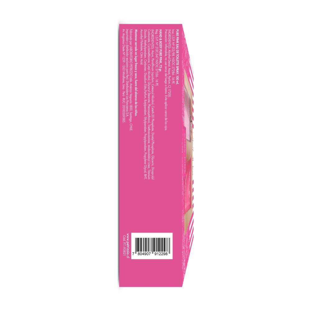 Estuche Fragancia Pure Pink 100 Ml + Crema Jean Les Pins image number 2.0