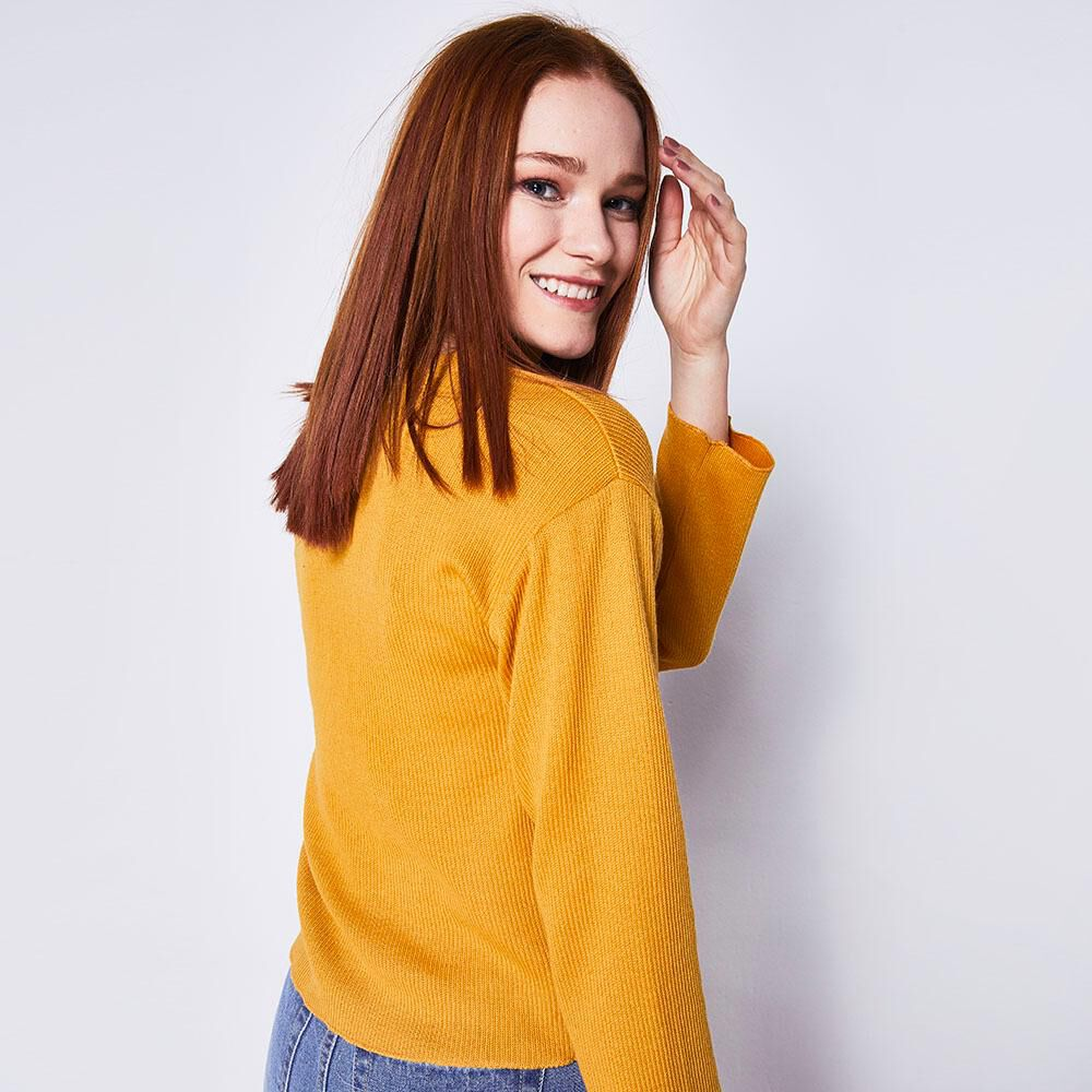 Sweater Liso Mujer Freedom image number 2.0