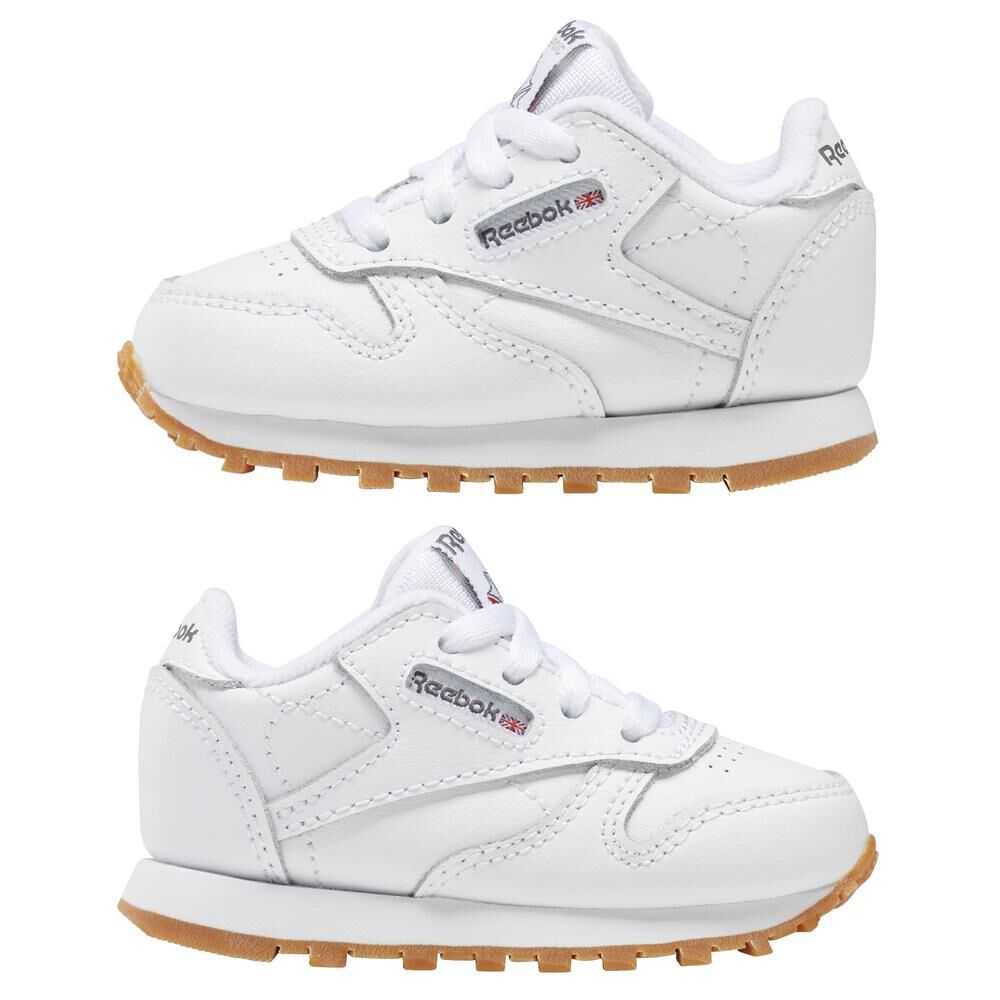 Zapatilla Running Hombre Reebok Classic Leather image number 4.0
