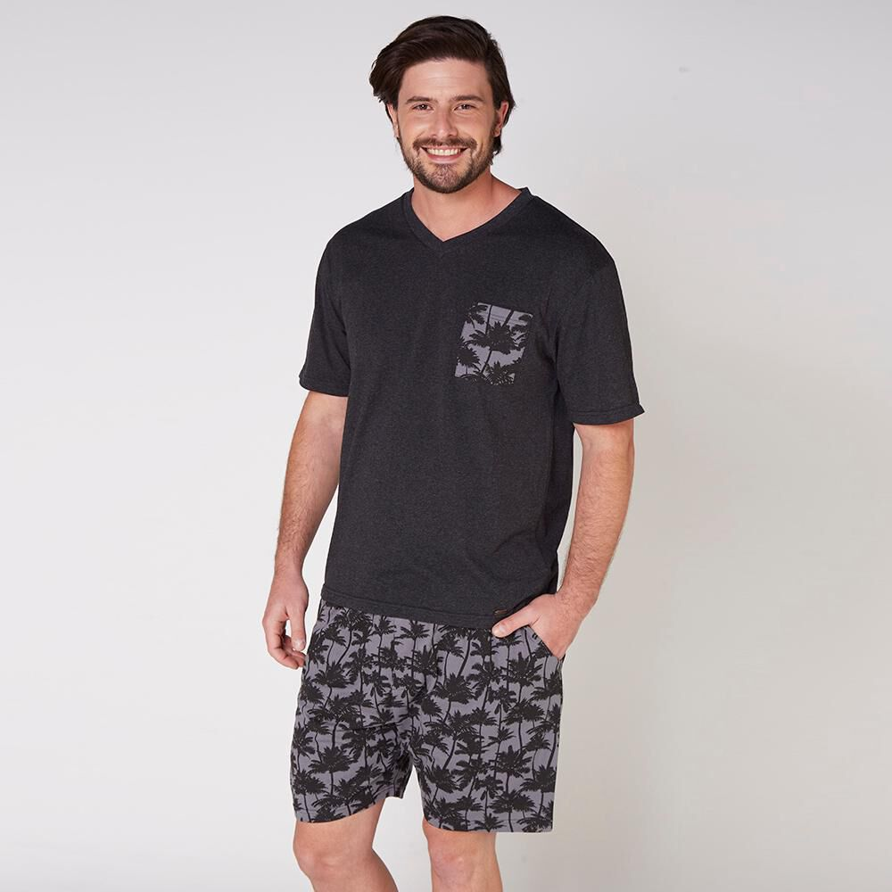 Pijama Short Hombre Kayser / 2 Piezas image number 0.0