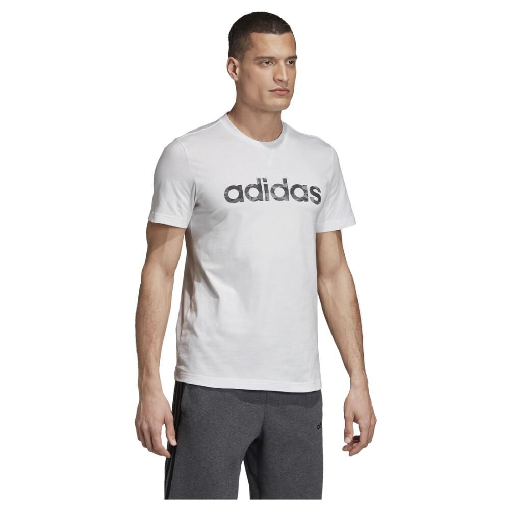 Camiseta Camo Linear Hombre Adidas image number 2.0