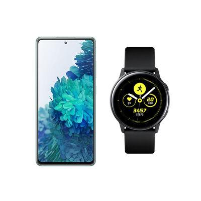 Smartphone Samsung S20 Fe Cloud Mint + Galaxy Active Black