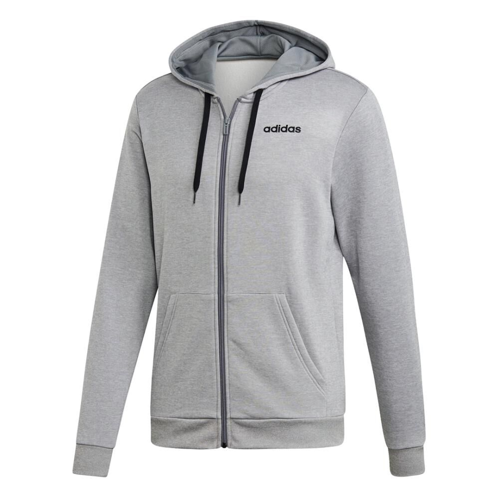 Buzo Con Capucha Hombre Adidas Linear French Terry image number 2.0