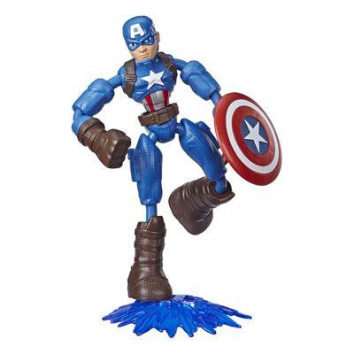 Figura De Accion Avenger Avn Bend And Flex Captain America