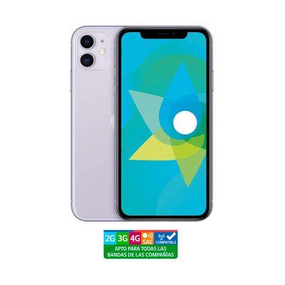 Smartphone Apple Iphone 11 Reacondicionado Morado / 64 Gb / Liberado
