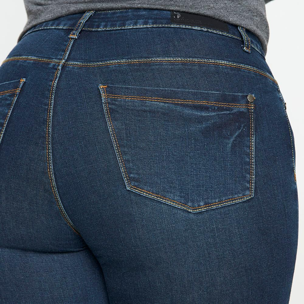 Jeans Tiro Alto Recto Mujer Sexy Large image number 4.0