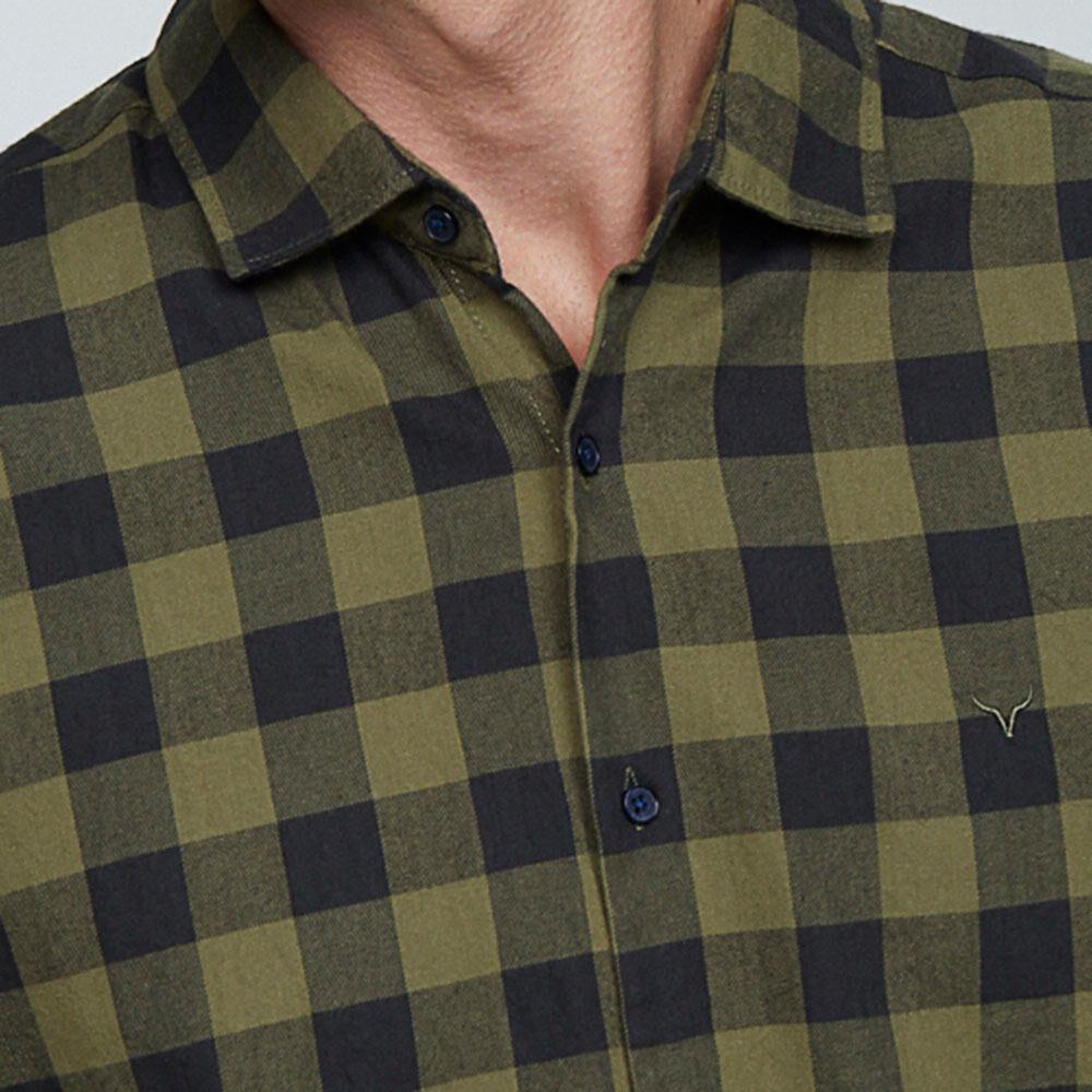 Camisa  Hombre Az Black image number 3.0