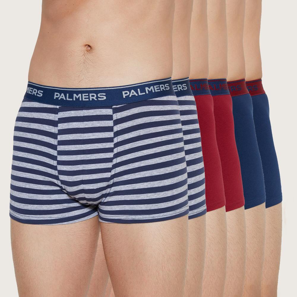 Pack Boxer Hombre Palmers / 6 Piezas image number 0.0