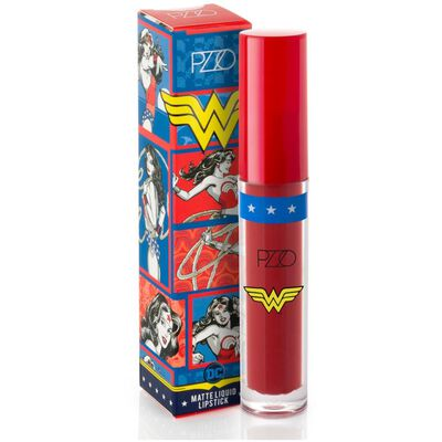 Labial Liquido Red Matte 3 Ml Wonder Woman