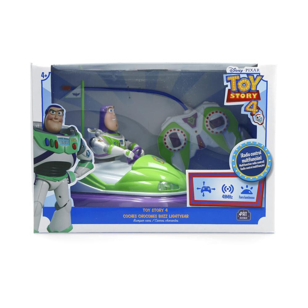 Figura De Pelicula Toy Story Coches Chocones Buzz Lightyear image number 1.0