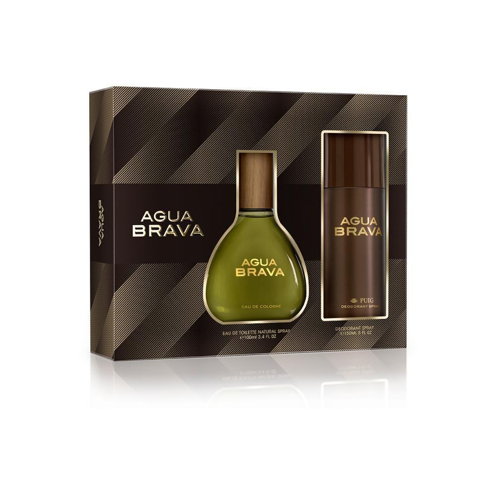 Perfume Clasico Agua Brava / 100 Ml / Eau De Toillete + Desodorante image number 0.0