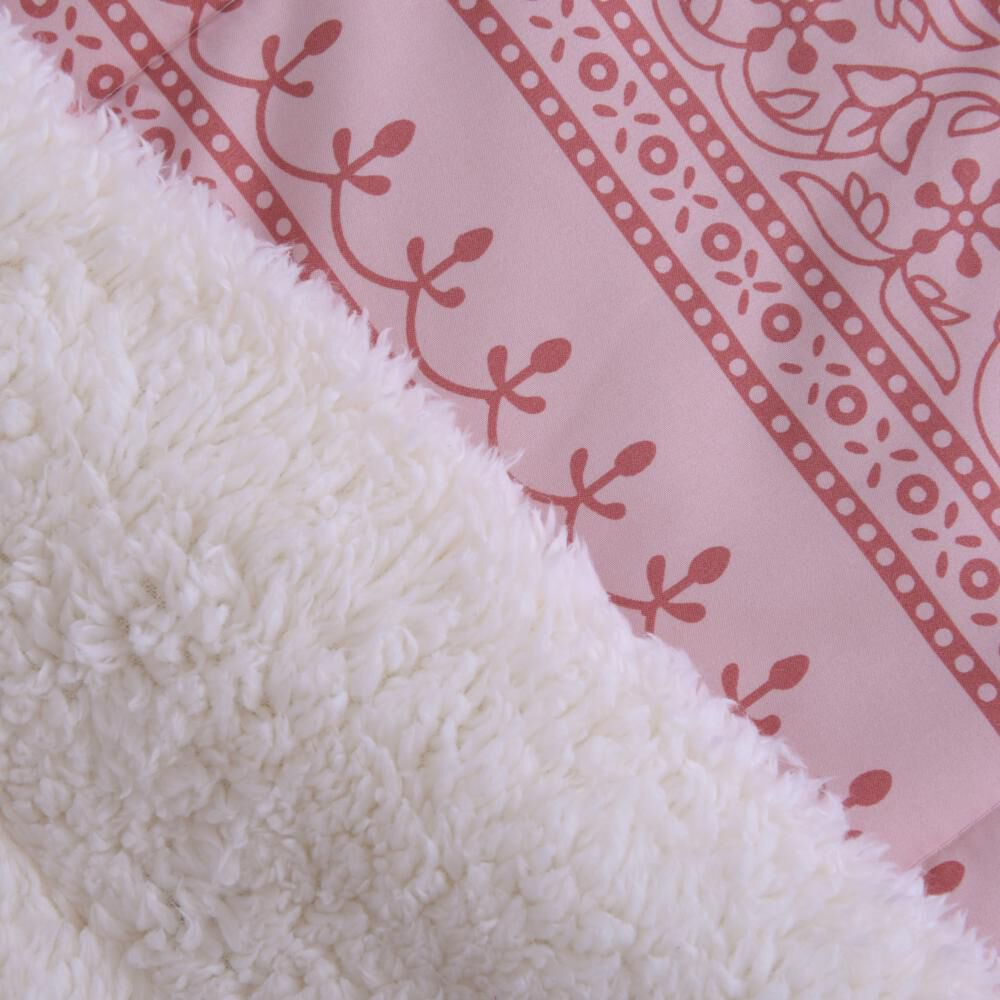Plumon Sherpa Sohome By Fabrics Estampado / 1.5 Plazas image number 1.0