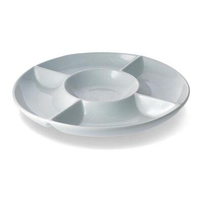 Plato Cocktail Casaideal Circular   / 1 Pieza