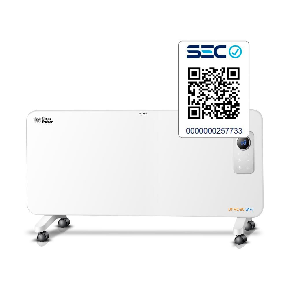 Convector Electrico Ursus Trotter Mc-20 Wifi image number 1.0