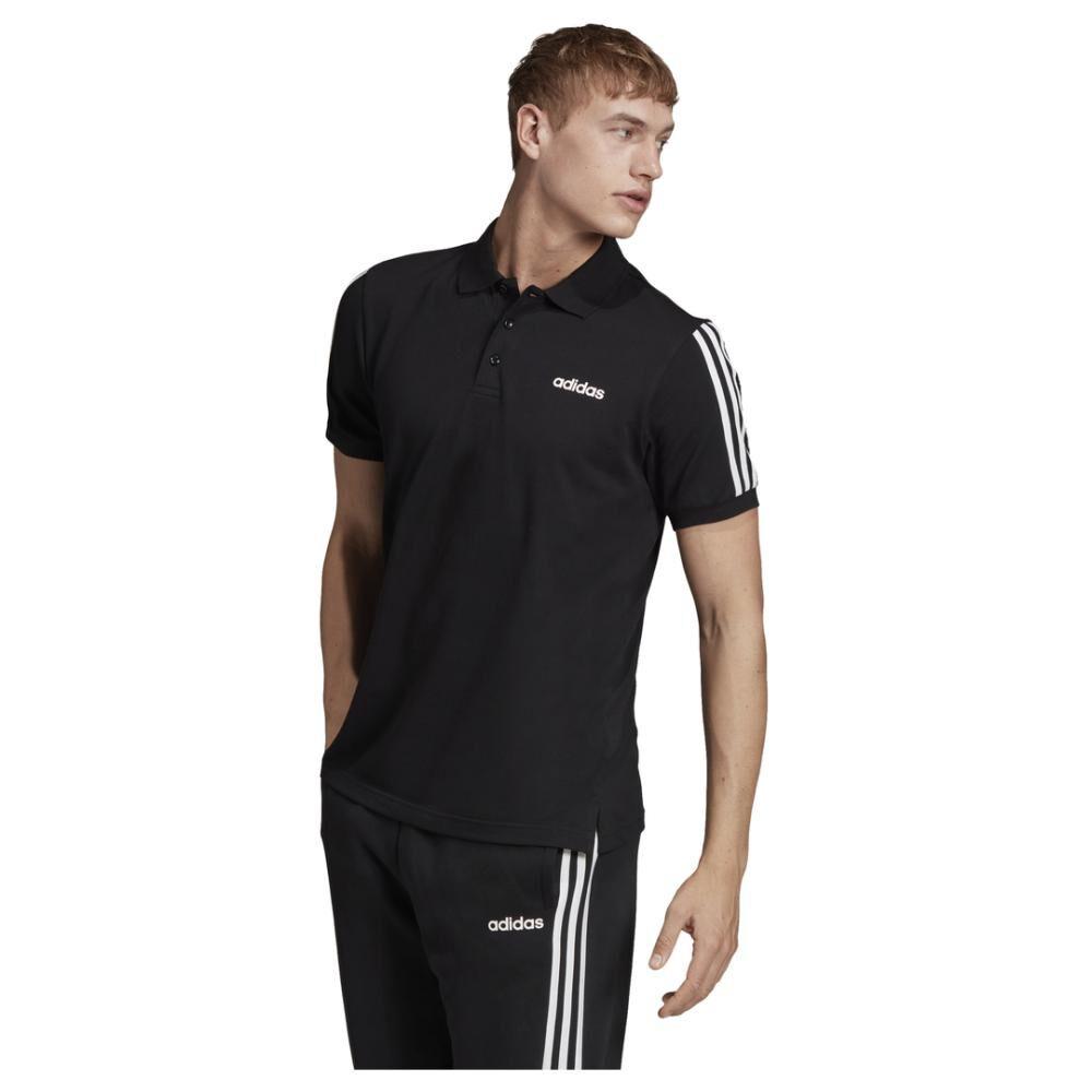 Polera Adidas Pique Polo Shirt 3s image number 4.0