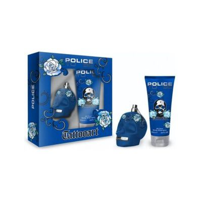 Perfume Tattooart Man Police / 75 Ml / Edt + B Shower 100 Ml