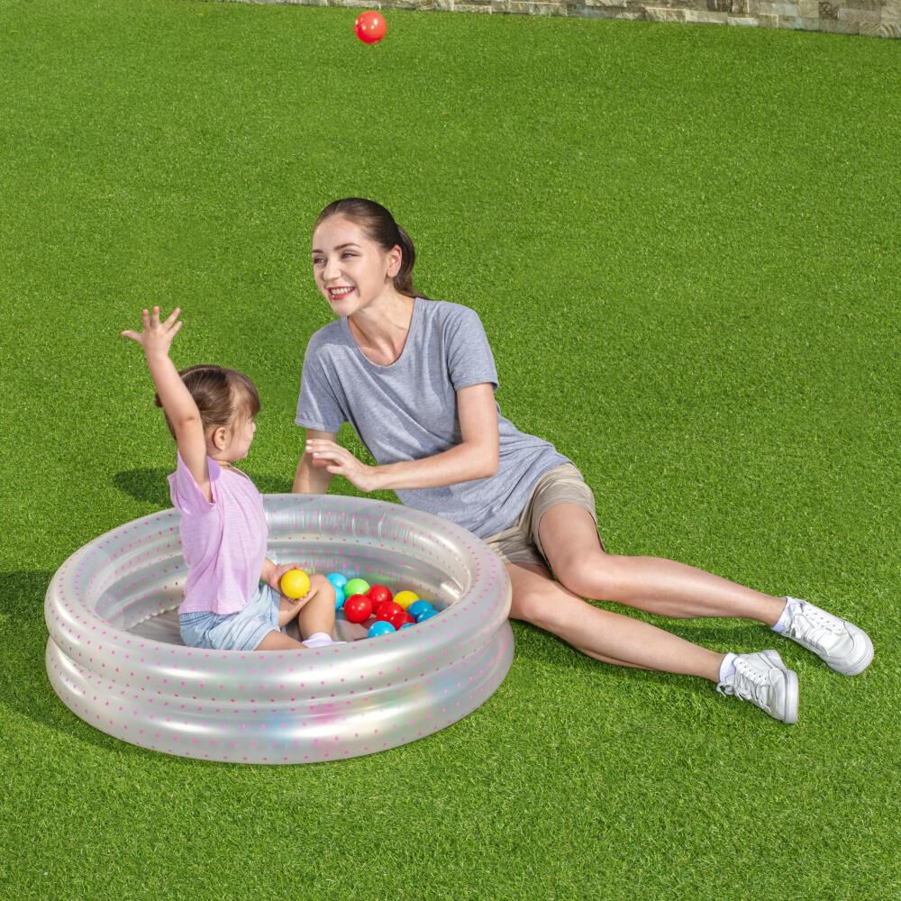 Piscina Inflable 2 Anillos Bestway Con Pelotas image number 1.0