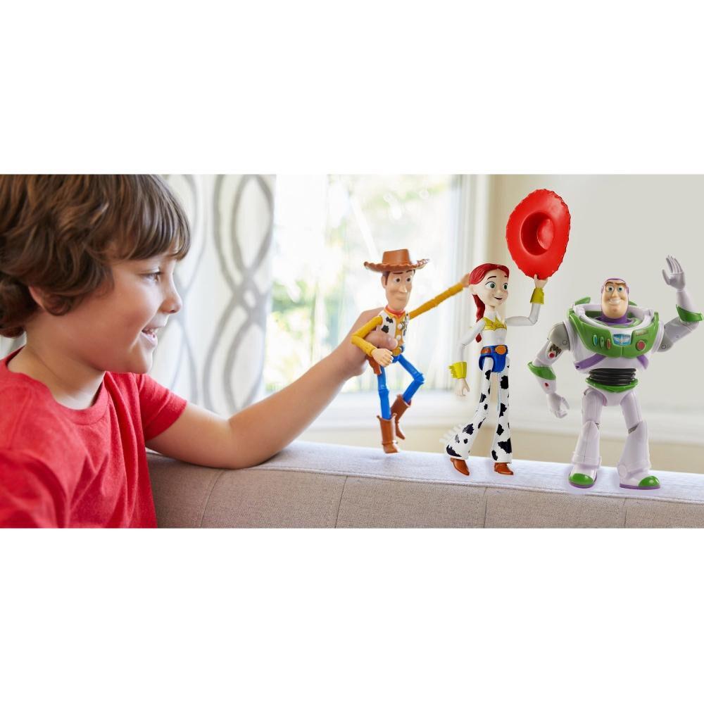Set De Figuras Toy Story Buzz Lightyear, Woody Y Jessie Llegada Con Bonnie image number 3.0