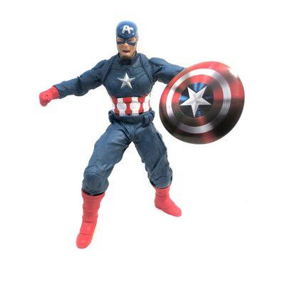 Figura De Acción Mimo Toys Captain America Revolution