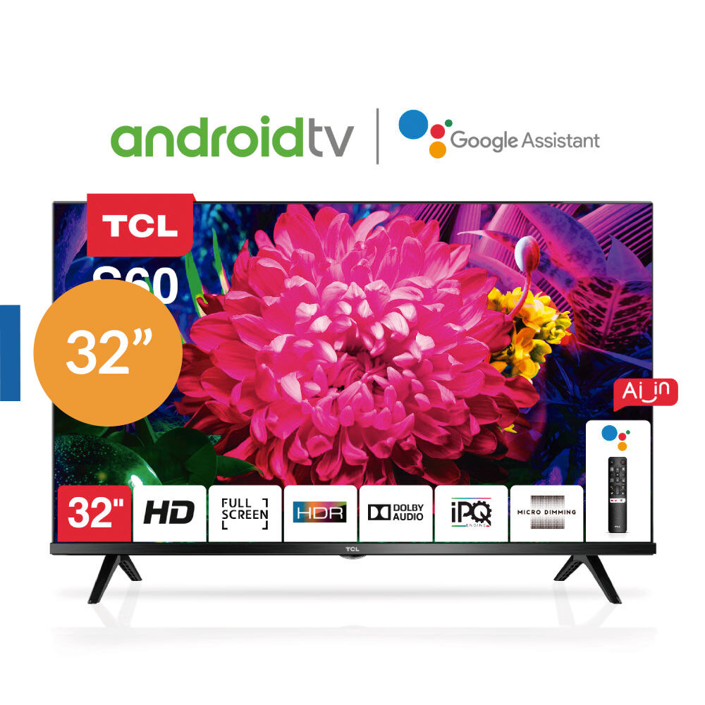 """Led TCL 32s60 / 32""""/ HD / Android Tv image number 0.0"""