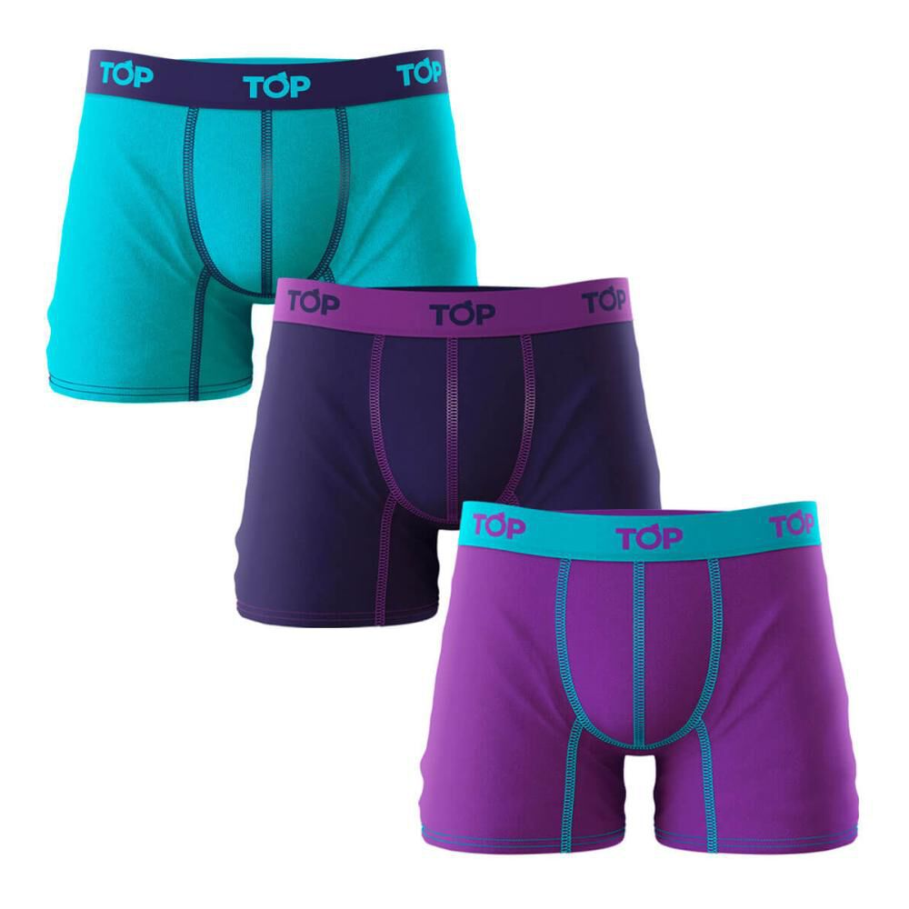 Boxer Hombre Top / 3 Unidades image number 0.0