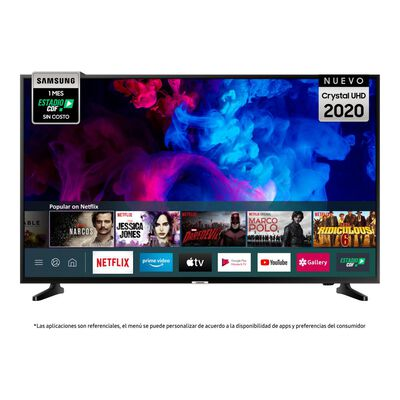 """Led Samsung Tu7090 / 50"""" / Crystal UHD / Smart Tv 2020"""