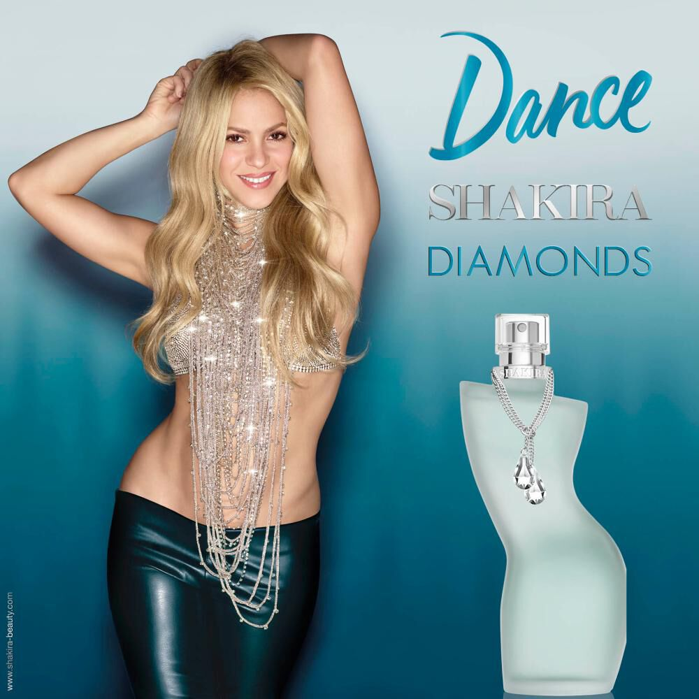 Set Dance Diamonds Edt 50ml + Body Lotion 75ml Shakira image number 6.0