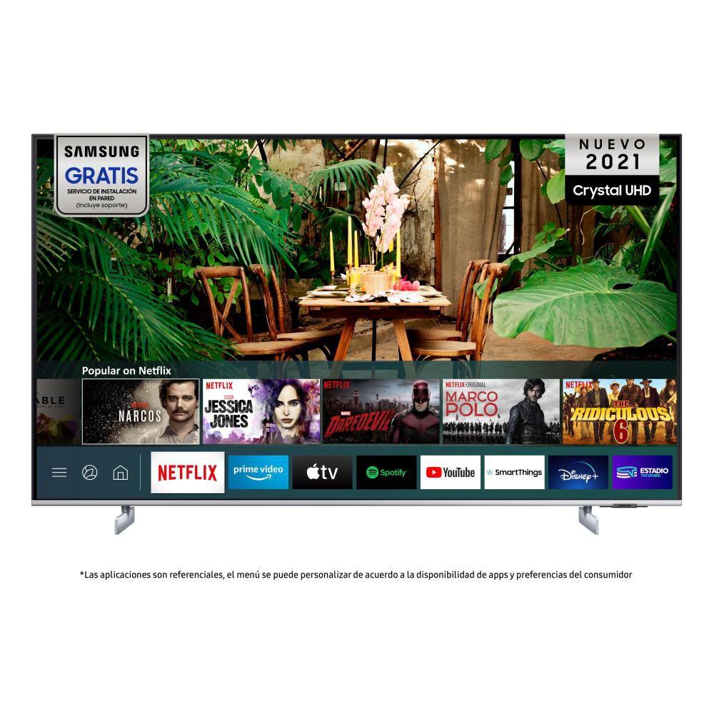 """Led Samsung AU8200 / 75"""" / Ultra Hd 4k / Smart Tv 2021 image number 1.0"""