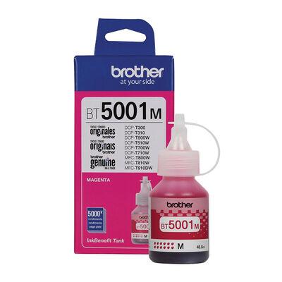 Botella De Tinta Brother Magenta Bt5001M