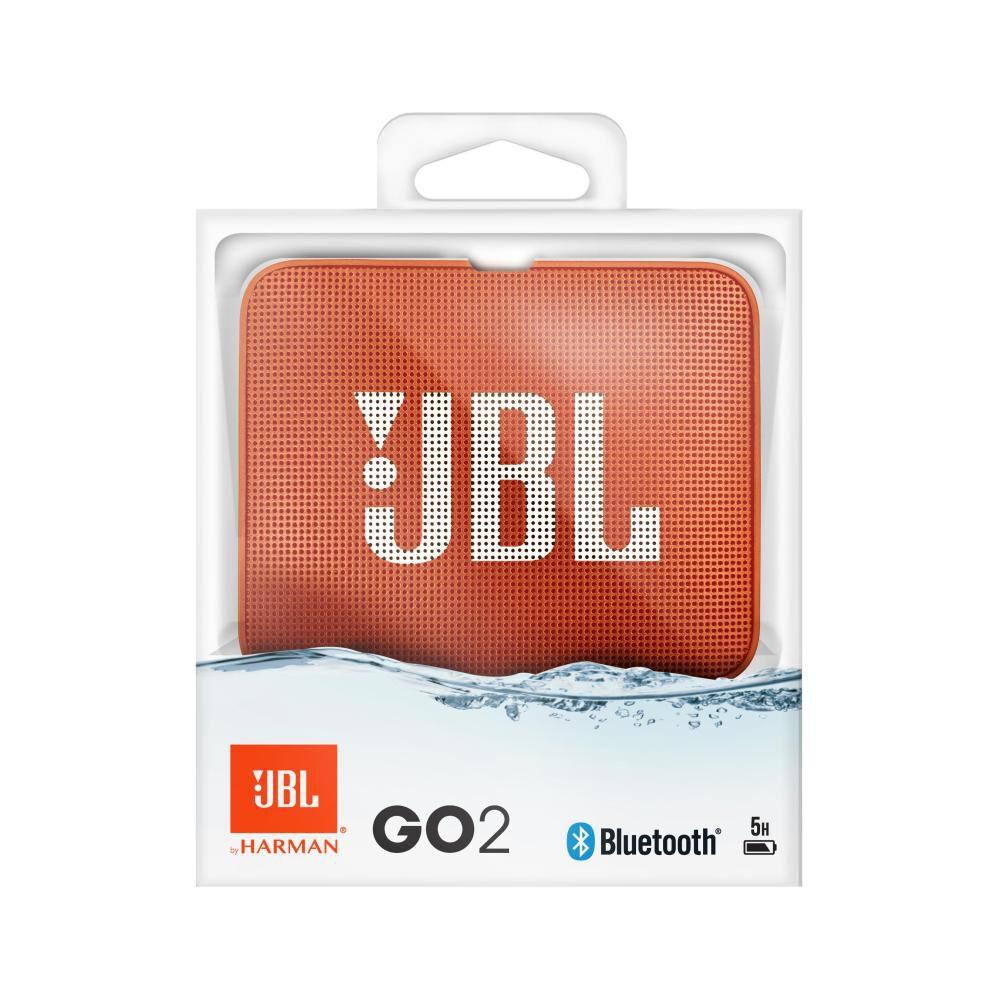 Parlante Bluetooth Jbl Go 2 Orange image number 4.0